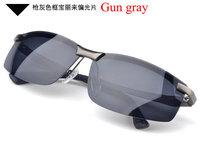 free shipping brand new Men fashion polarized sunglasses aluminum magnesium metal eyewwear driving glasses