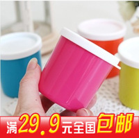 At home mini food storage box 230ml refrigerator candy color storage box