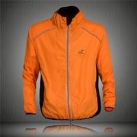 Tour de France Cycling Coat Mens Winter Windproof Road Bike Cycle Clothing Long Sleeve Jersey Wind Rain Waterproof Jacket Orange