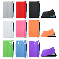 wholesale Nine colors  1piece Magnetic Smart cover for ipad air ,PU smart cover for ipad5