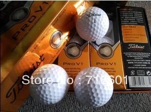 2014 new high quality v1 golf, brand golf balls (12 balls in a box).(China (Mainland))