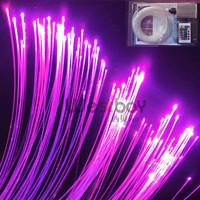 LED fiber optic twinkle star for swiming pool includes150pcs 0.75mm 2m long fiber+5W light engine+ remote contoller+16 color