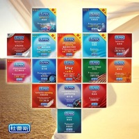 120condom / lot Durex Condoms With Original Package, sex condoms, 13 Style choose sex products free shipping with safe packing