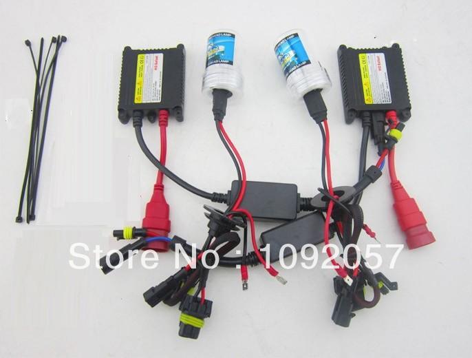 12V 55W Cars HID Bi Xenon Headlamp conversion lighting kit H1 H3 H7 H11 9005 9006 4300K 6000K 8000K parking atv Accessories(China (Mainland))