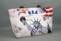 2014 Brand Bew Designer Hotsale Coloful Print National Flag Shoulder Bag Messenger Bag Women's Day Clutch Handbag Free Shipping