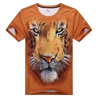 Top quality new fashion 2013 3d short sleve men tshirts