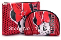 Wholeslae 5 Set 10 Pcs/lot Cartoon Minnie Mouse coin purses coin bag