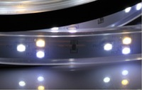 free shipping 24v 90 LEDs/m SMD 3528 Color Temperature CDW Adjustable LED Strip CW+NW+WW