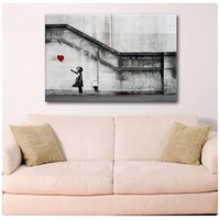 HUGE BANKSY There Is Always Hope,Oil Painting Abstract Wall Art Decor 24''x36'