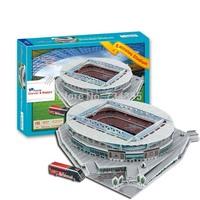2014 New England Emirates Stadium 3D puzzle DIY paper model puzzles adult educational toys for children
