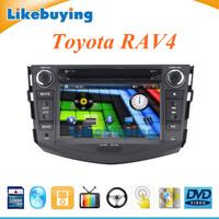 2 Din 7 inch Car DVD gps navigation Stereo Radio for Toyota RAV4 FREE 8GB Card with map IPOD Bluetooth Optional TV/3G/WIFI
