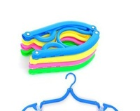 Min Order $6 (mixed order) Free Shipping!Folding clothes hanger, traveling foldable coat hanger,clothes rack,Hot sale