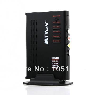 LCD TV BOX Analog TV BOX computer TV Program Receiver HDTV HD (SCEAM format)(China (Mainland))