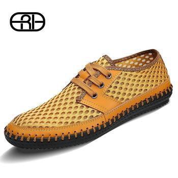 2014 Men's shoes comfortable breathable Повседневный shoes men brand soft sandals ...