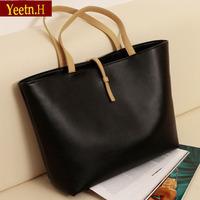 0050HOT! Black Leather Fashion Luxury Lady Ladies Women's Messenger Bags Woman Shoulder Handbag Bag