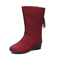 Beijing cotton-made 2013 winter shoes Women casual thermal slip-resistant snow boots tassel boots