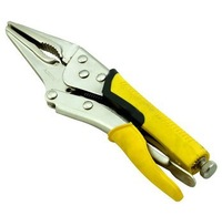 """9"""" Long Nose Locking Plier  Chrome-molybdenum Alloy Steel Lock Wrench Welding Clamp Tool"""