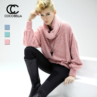 Cocobella 2013 normic pullover loose fashion heap turtleneck fish scale cashmere knitted sweater yn45