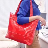 Free shipping 2013 Hot Winter Cotton Handbag Fashion Women handbag 6 color women shoulder bag,warm handbag,Leisure feather totes