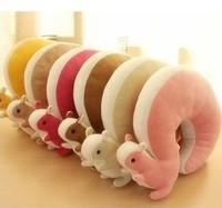 Novelty Squirrel Animal Cotton U Shape Neck Pillow Travel Car Home Pillow Nap Pillow Retail