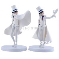 2 pcs magic Kaitou Kid Conan EDOGAWA anime figures pvc toys