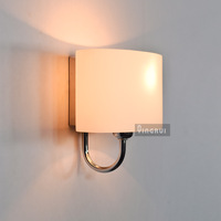 Wall lamp modern brief bed-lighting child glass lamp stair lighting lamps 3007