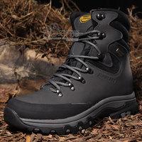 Alpine pro high waterproof hiking outdoor cowhide male plus size walking shoes 41 - 456