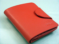 New Stylish RED Men's PU Leather Wallet Pocket Card Clutch Bifold Purse wallet
