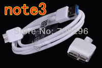 Cable USB3.0 Free shipping Micro USB 3.0 Sync Data Charger Cable For Samsung Galaxy Note 3 N9000 N9005