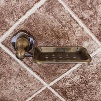 Kit bathroom antique brass soap dish soap single disc rack ashtray soap box 8500 series