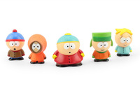 Free Shipping Cute PVC South Park Figure 5 pcs/set Mini Display Action Figure Toys Doll With Box