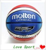 Free Shipping Molten Basketball Ball 7 GP7 PU Material Ball Basketballs Sports Gift Indoor Outdoor Basket Ball New 2014