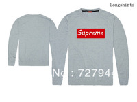 New arrival Supreme Sweatshirts mens 2013 fashion clothing hip hop sweater 4 styles sportswear Free Shipping Size S-XXL