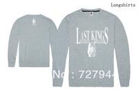Last Kings Sweatshirts 2013 hip hop new style cheap mens sweaters 4 styles sportswears Free Shipping Size S-XXL