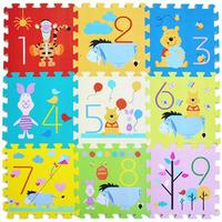 Hot Sale!!  9 Pcs per lot Cartoon EVA Floor Mat Baby's Climb Blanket Eva Foam Puzzle Mat Game Carpet Crawling Rug DD9002