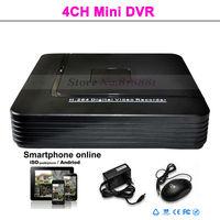Wholesale 4CH Mini DVR Recorder iCloud Free DDNS
