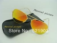 Wholesale - 2014 Super Cool Men Women Colorful Sunglasses Driving  3025 Sun Glasses +Box+Cloth Free Shipping