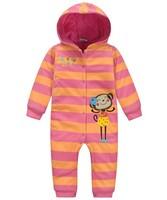 2014 New Arrival Baby Infant warm Romper Kids cute bodysuit Animal monkey Costume Novelty Child autumn winter Clothing