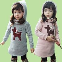 2014 autumn and winter winter children clothing girls velvet hoodies girls sweatshirt Infantil Blusas Moleton roupas