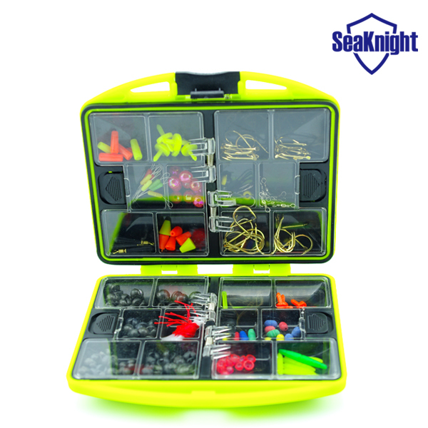 SeaKnight Promotion Rock Fishing Accessories Box Surf Casting fishing tackle box Swivel Jig Hooks fishing tools set(China (Mainland))