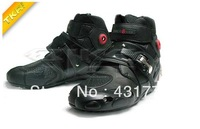 Free shipping 2013 summer model motorcycle boots SPEED BIKERS Microfiber leather racing boots SIZE: 40/41/42/43/44/45 B3597