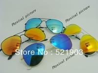 5pcs free shipping 12colors choice Designer Sunglasses Men's Women's Sunglasses Christmas Gifts Mirror Sunglass