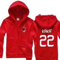 Football fans Serie A AC Milan fans clothing / Balotelli / Chaaraoui / Kaka Hoodies, Sweatshirts