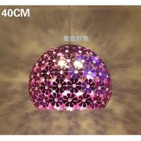 40cm Aluminum pendant light modern brief restaurant lights bedroom lamp bar pendant light lamps