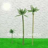 Model Palm tree Scale Train Layout  size 50mm TF-50  Plastic model tree