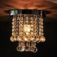 Aisle lights corridor lights crystal hallway lights entrance lights balcony lamp k9 crystal lamp