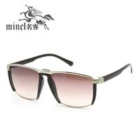 Fashion male Women classic vintage sunglasses glasses box sunglasses