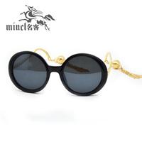 Lantern elegant circle women's 2013 sunglasses big box tassel sunglasses glasses anti-uv