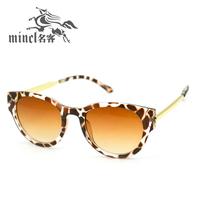 Cat-eye new arrival fashion vintage metal box round male women's sun glasses sunglasses