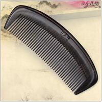Wood ebony wood comb anti-static anti-hair loss massage comb gift box bag packing gift